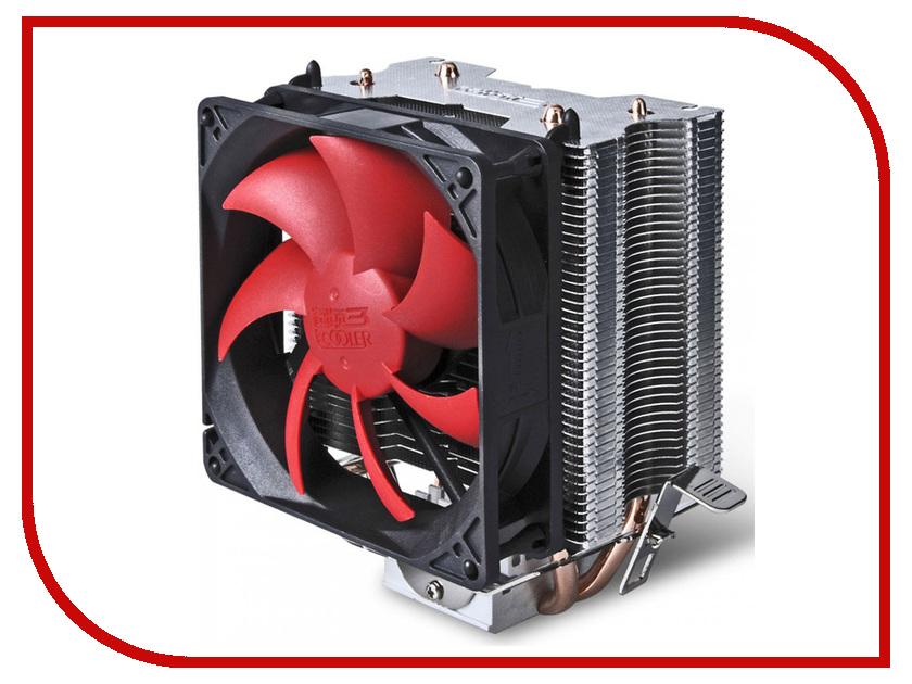 Кулер PCcooler S93 (Intel LGA775/LGA1150/1151/1155/1156/LGA1356/1366/AMD AM2/AM2+/AM3/AM3+/FM1/AM4/FM2/FM2+) кулер thermalright macho rev a macho a intel 775 1150 1155 1156 1366 2011 2011 3 amd am2 am2 am3 am3 fm1 fm2 fm2