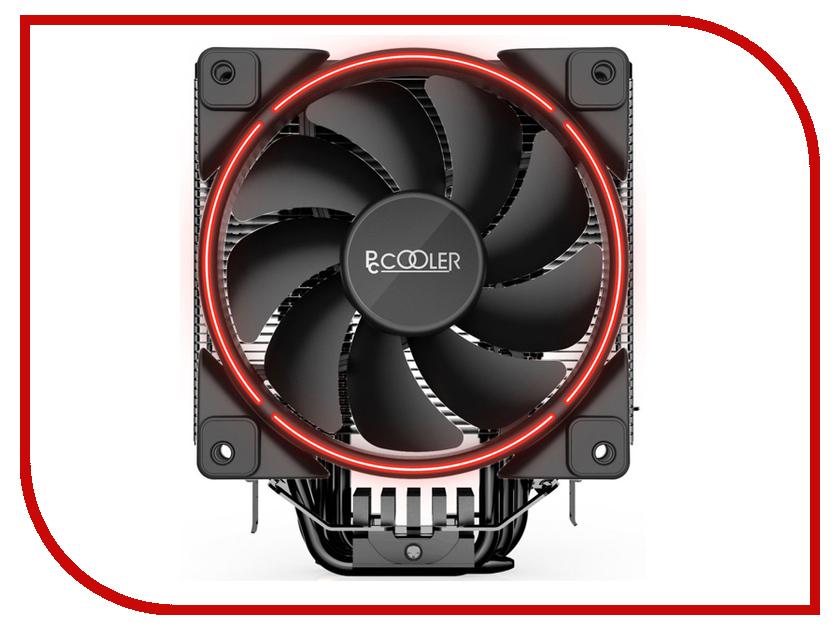 Кулер PCcooler GI-X6R(Intel LGA775/LGA1150/1151/1155/1156/AMD AM2/AM2+/AM3/AM3+/FM1/AM4/FM2/FM2+) new pc cpu cooler cooling fan heatsink for intel lga775 1155 amd am2 am3 a97