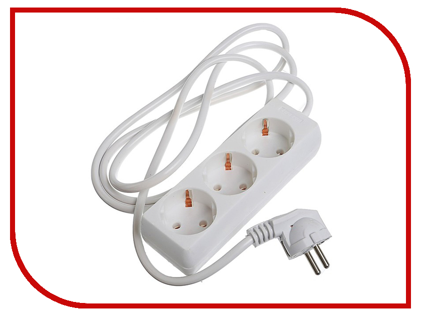 Удлинитель Luazon 3 Sockets 1.8m 2791276