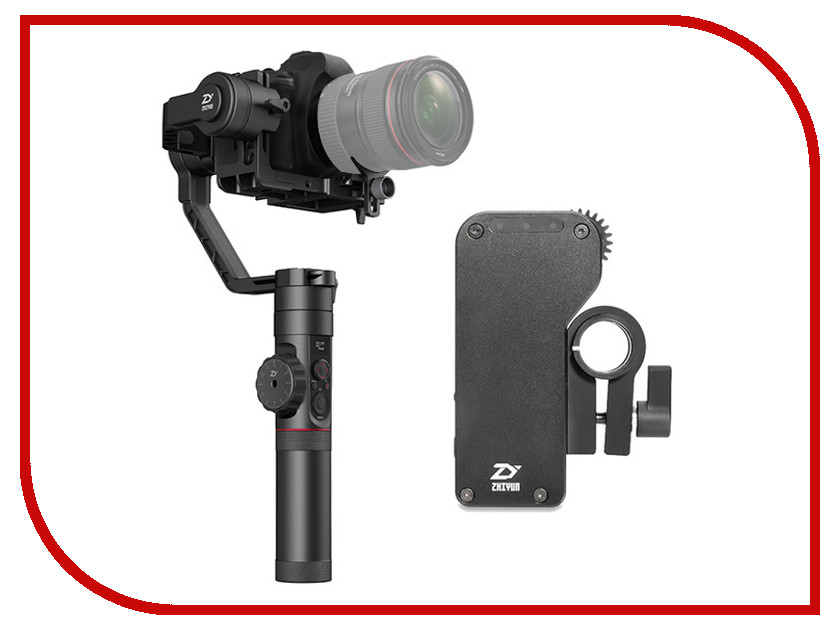 Стедикам Zhiyun Crane 2 v3 + Servo Follow Focus zhi yun zhiyun official crane m 3 axis brushless handheld gimbal stabilizer for mirrorless camera action camera support 650g