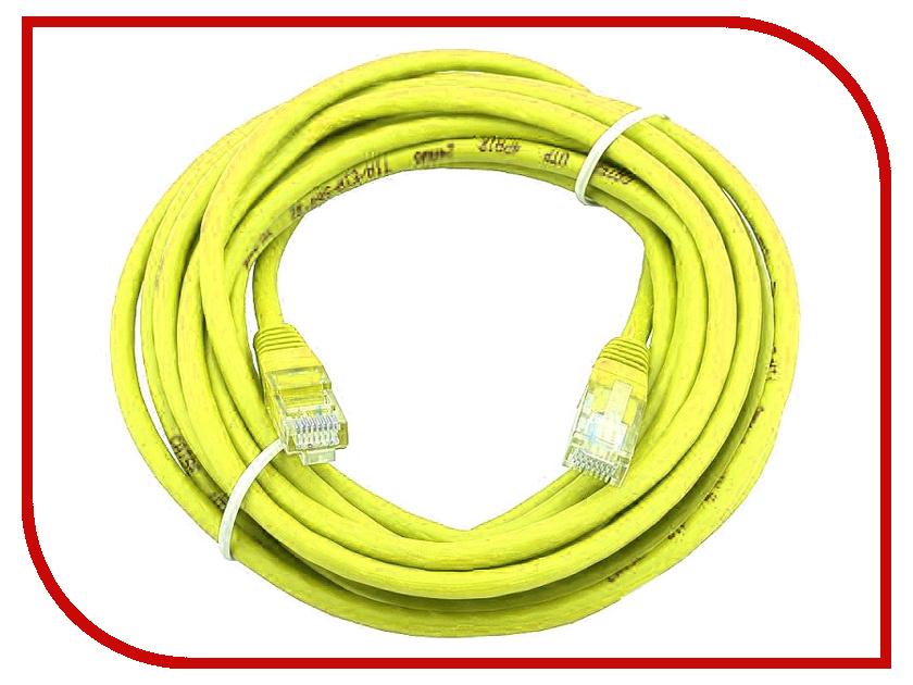 Сетевой кабель AOpen UTP cat.5e ANP511 20m Yellow ANP511_20M_Y аксессуар aopen utp cat5e anp511 grey 1 5m
