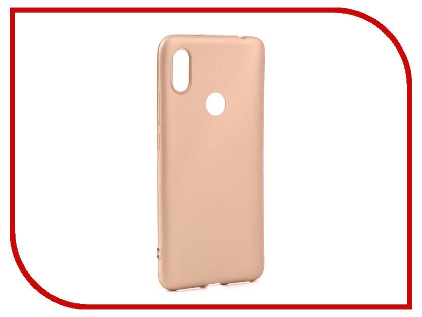 Аксессуар Чехол для Xiaomi S2 X-Level Guardian Series Gold 2828-152