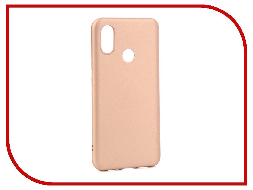 Аксессуар Чехол для Xiaomi Mi 8 X-Level Guardian Series Gold 2828-149