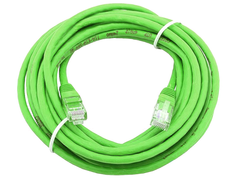 Сетевой кабель AOpen UTP cat.5e ANP511 20m Green ANP511_20M_G