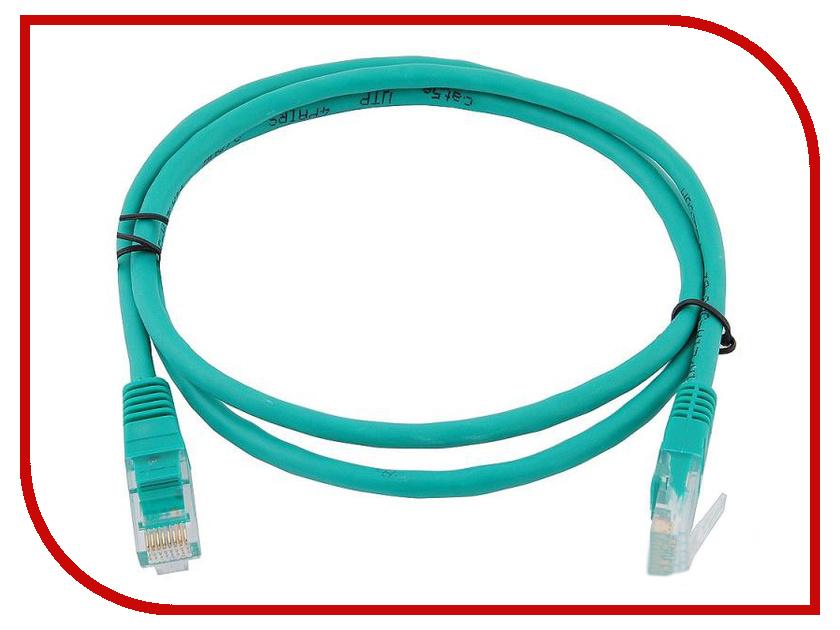 Сетевой кабель AOpen UTP cat.5e ANP511 1m Green ANP511_1M_G