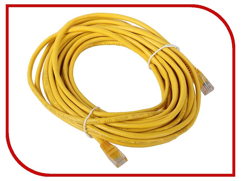 Сетевой кабель AOpen UTP cat.5e ANP511 10m Yellow ANP511_10M_Y аксессуар aopen utp cat5e anp511 grey 1 5m