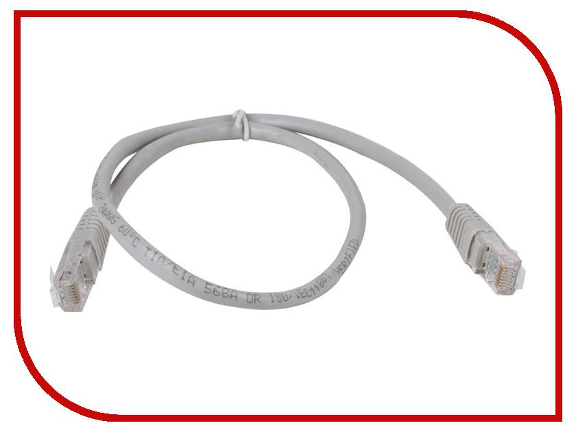Сетевой кабель AOpen UTP cat.5e ANP511 0.5m Grey ANP511_0.5M