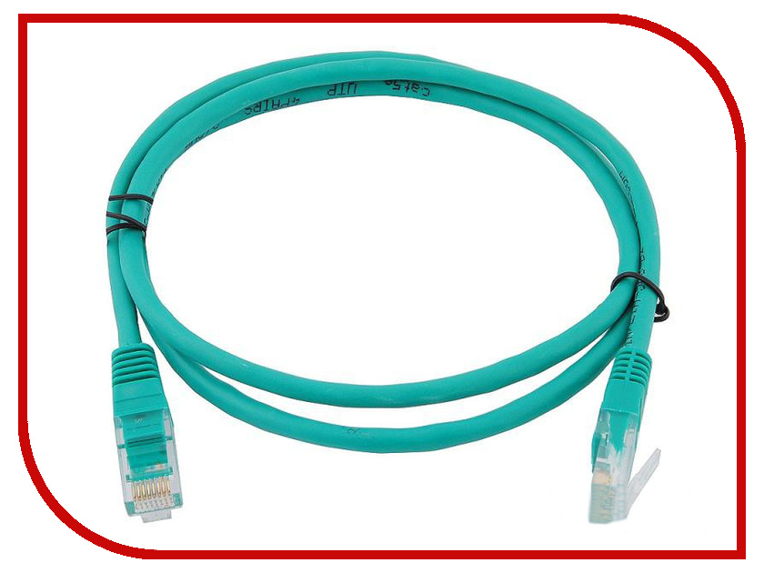 Сетевой кабель AOpen UTP cat.5e ANP511 1.5m Green ANP511_1.5M_G