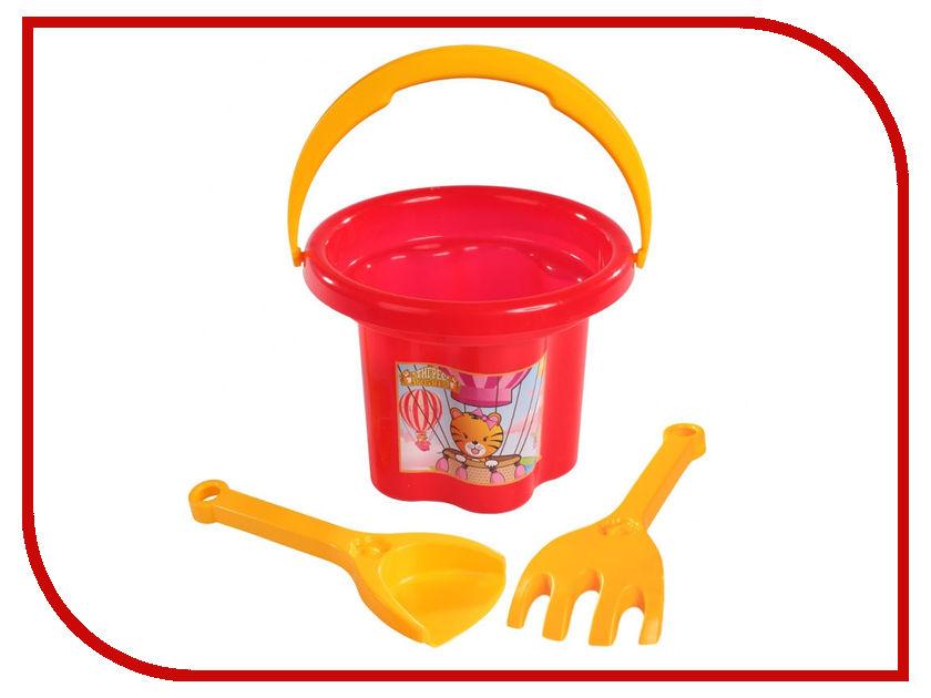 Игрушка Тигрес Набор для песка Цветочек 3шт. 39040