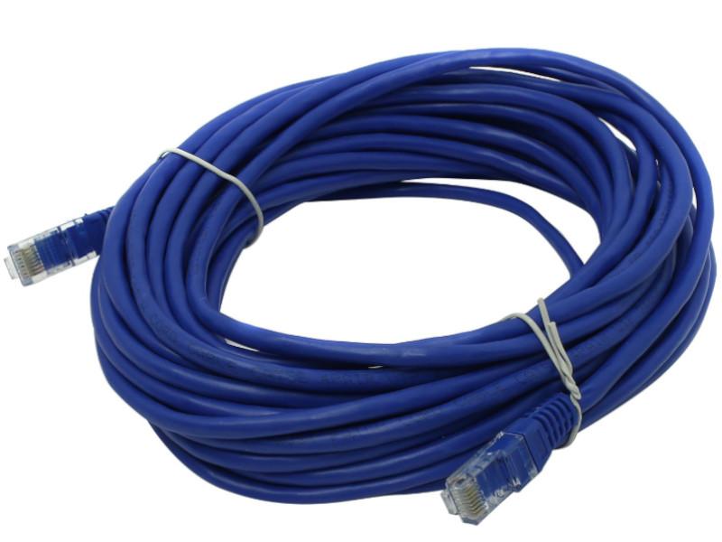 Сетевой кабель Telecom UTP cat.5e 10m Blue PAT-10M_B