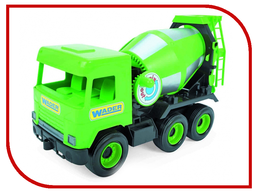 Игрушка Тигрес Middle Truck Бетоносмеситель Green 39485