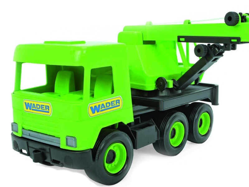 Игрушка Wader Middle Truck 39483
