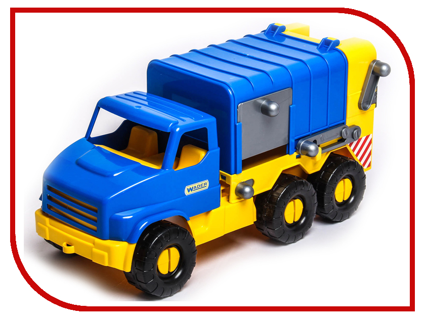Игрушка Тигрес City Truck Мусоровоз 39399 lepin 02052 the fire station truck set city series 60110 building blocks bricks educational boy toy christmas gift lepin city