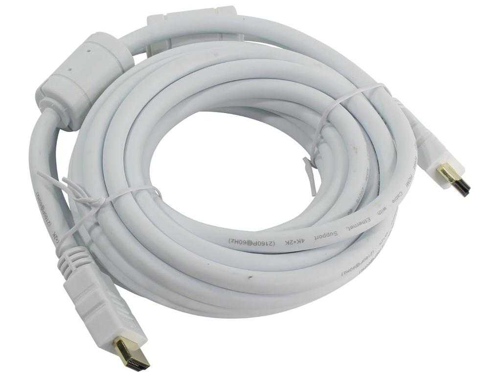 Аксессуар AOpen HDMI 19M ver 2.0 5m White ACG711DW-5M