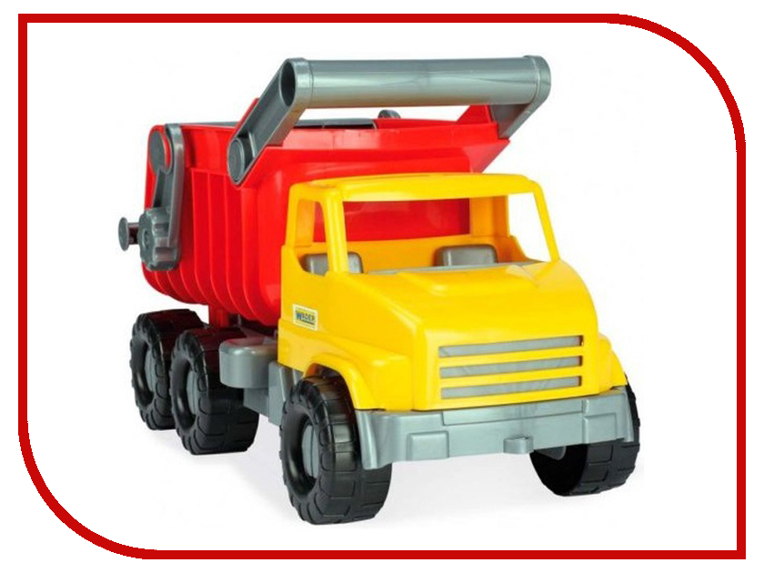 Игрушка Тигрес City Truck Самосвал 39368 0368 sluban 121pcs city series airport van truck model building blocks enlighten diy figure toys for children compatible legoe