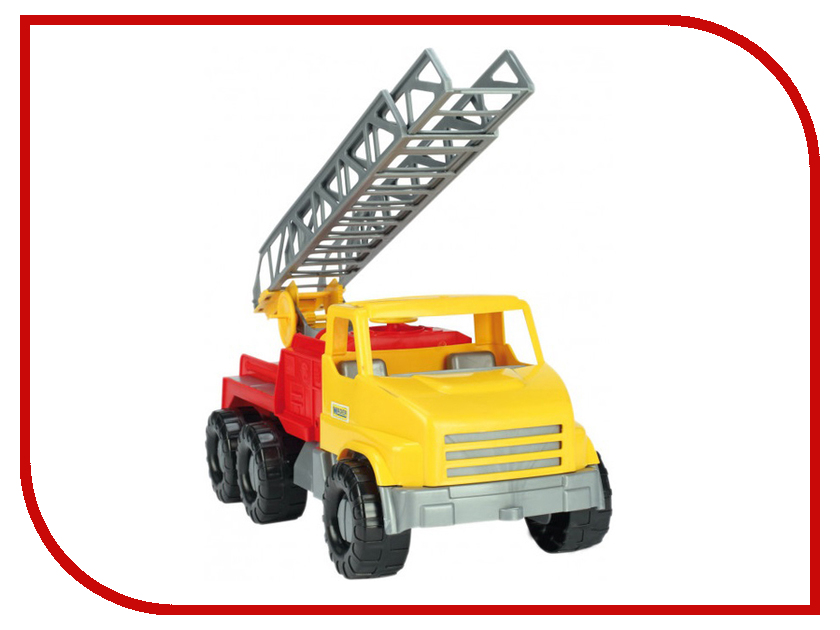 Игрушка Тигрес City Truck Пожарная машина 39367 0368 sluban 121pcs city series airport van truck model building blocks enlighten diy figure toys for children compatible legoe