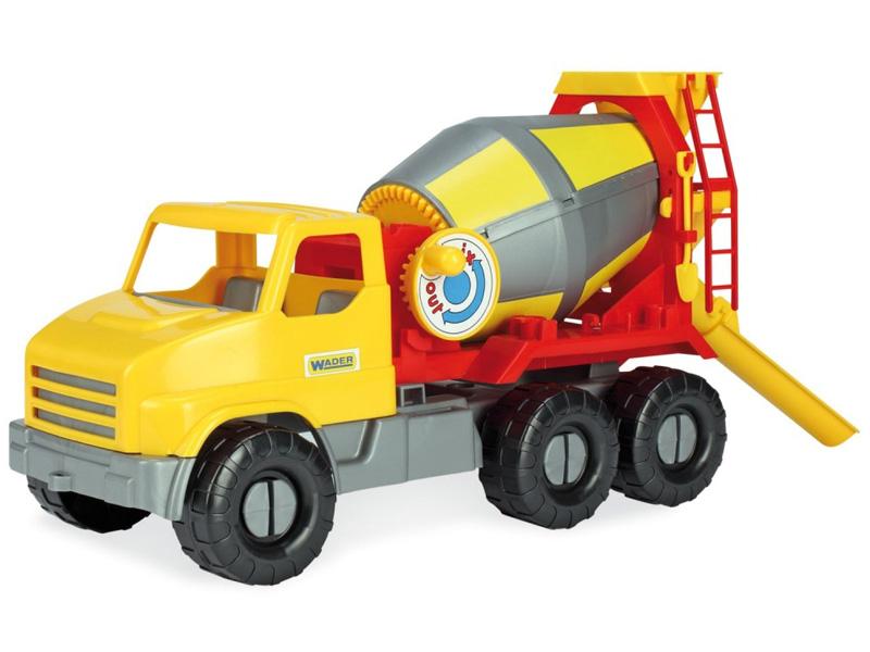 Игрушка Тигрес City Truck Бетоносмеситель 39365 игрушка тигрес multi truck грузовик с кеглями 39220