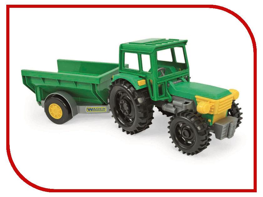 Игрушка Тигрес Трактор Фермер с прицепом 39348 трактор с прицепом св ход 36см dickie