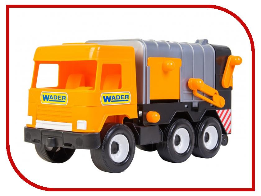 Игрушка Тигрес Middle Truck Мусоровоз City 39312 dickie toys мусоровоз heavy city truck