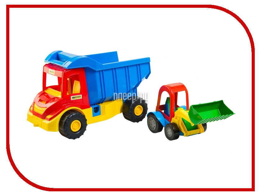 Игрушка Тигрес Multi Truck Грузовик с трактором 39219 ultra loud bicycle air horn truck siren sound 120db