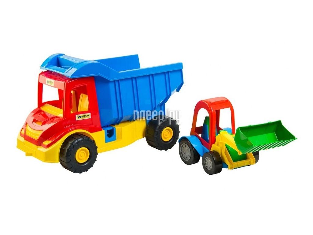 Игрушка Wader Multi Truck Грузовик с трактором 39219