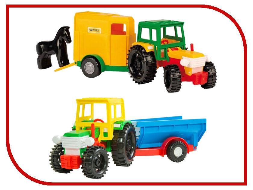 Игрушка Тигрес Трактор с прицепом 39215 машинки brio трактор с бревнами на магн и прицепом 22х4х13см блист