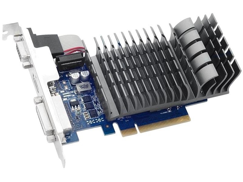 Видеокарта ASUS GeForce GT 710 954Mhz PCI-E 2.0 1024Mb 1800Mhz 64 bit DVI HDMI HDCP 710-1-SL видеокарта asus gt 710 2 sl nvidia geforce gt 710 2048mb