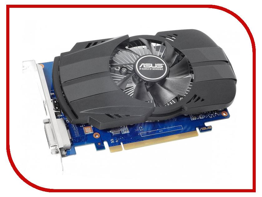 Видеокарта ASUS GeForce GT 1030 1177Mhz PCI-E 3.0 2048Mb 2100Mhz 64 bit DVI HDMI HDCP PH-GT1030-O2GD4 asustek asus ph gt1030 o2g 1252 1531mhz 2g рабочего памяти начального уровня графической карты пк