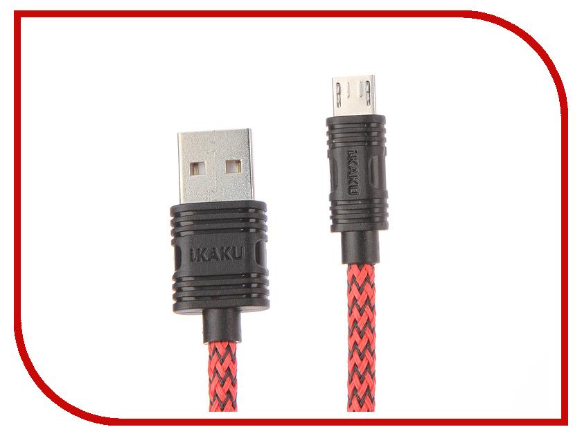 Аксессуар iKAKU Fly USB - MicroUSB Red аксессуар
