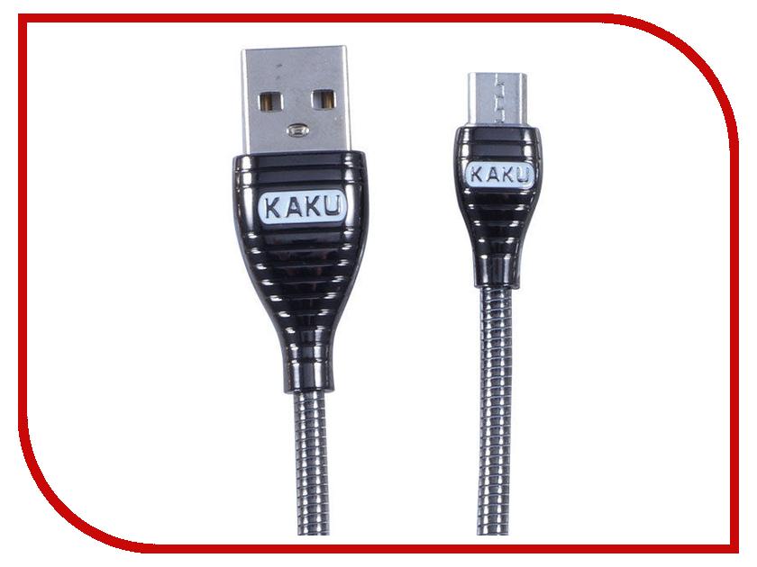 Аксессуар iKAKU Alloy USB - MicroUSB Black