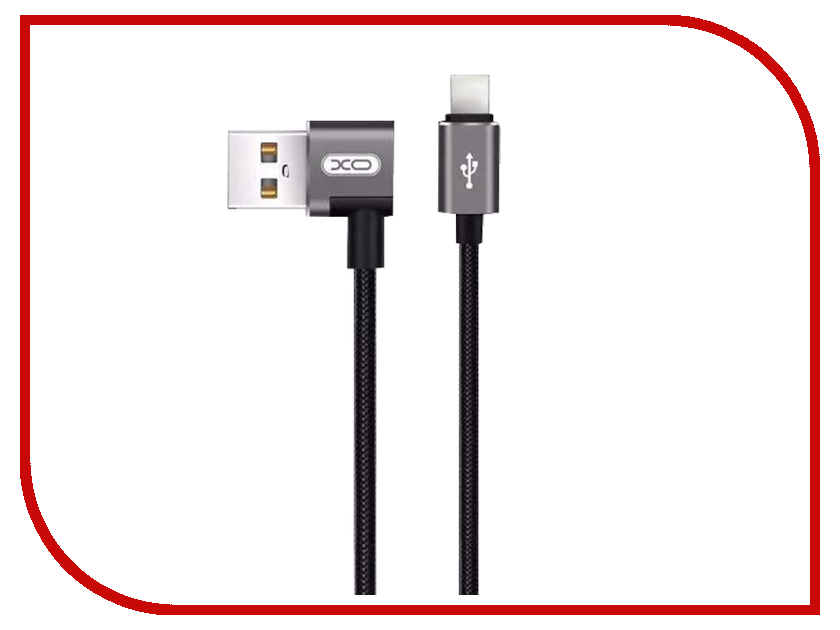 Аксессуар XO USB - Type-C 1.0m Black NB31 orico aluminum usb type c male to micro 2 0 cable female charge data adapter for nokia n1 tablet macbook pc