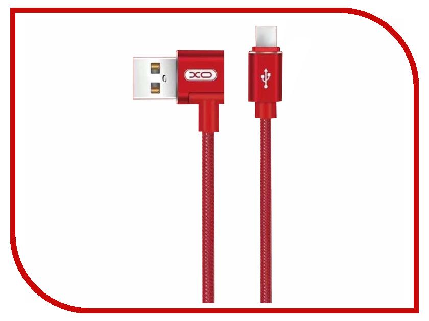 Аксессуар XO USB - MicroUSB 1.0m Red NB31 xo s7 gold