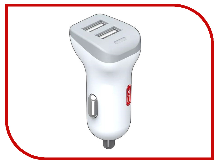 Зарядное устройство XO CC-11 2xUSB 2.4А White dwe cc rf white color plastic keypad wiegand control readers with 100m communication distance