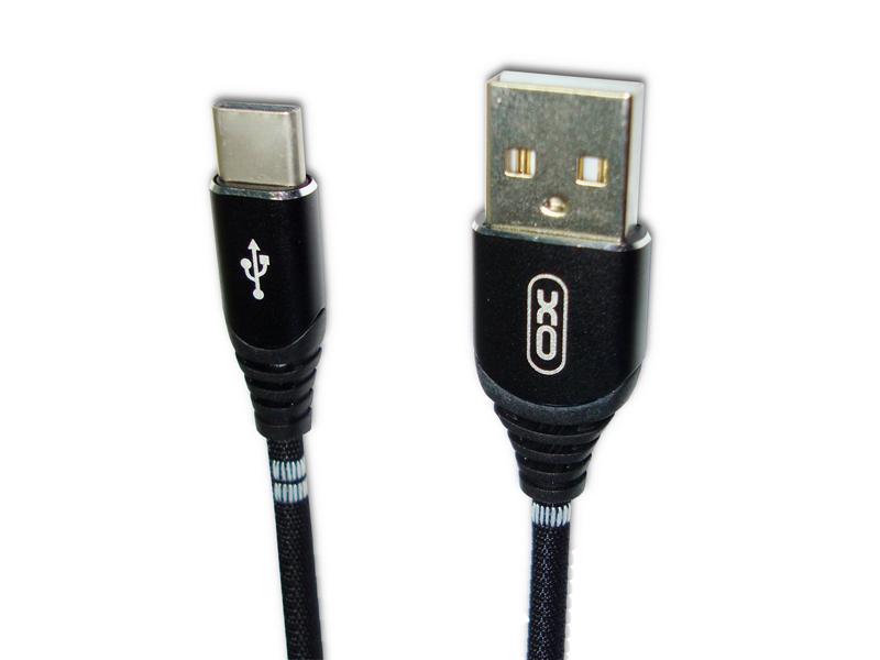 Аксессуар XO USB - MicroUSB 1.0m Black NB29 xo s20 black