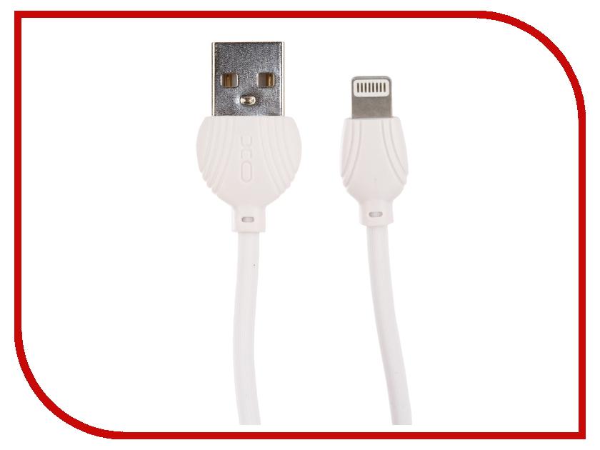 Аксессуар XO USB - Lightning 8-pin 1.0m White NB32