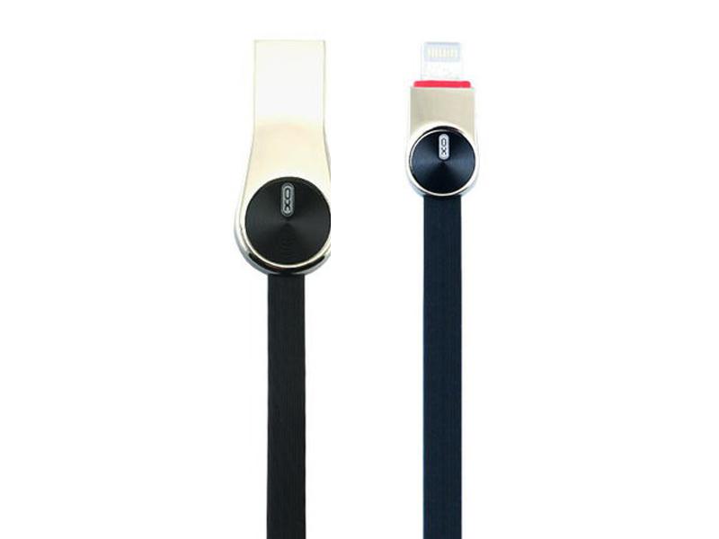 Аксессуар XO USB - Lightning 8-pin 1.0m Black NB20 цена и фото