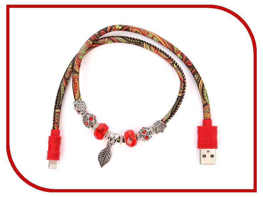 все цены на Аксессуар iKAKU Potala USB - Lightning 8pin Red онлайн