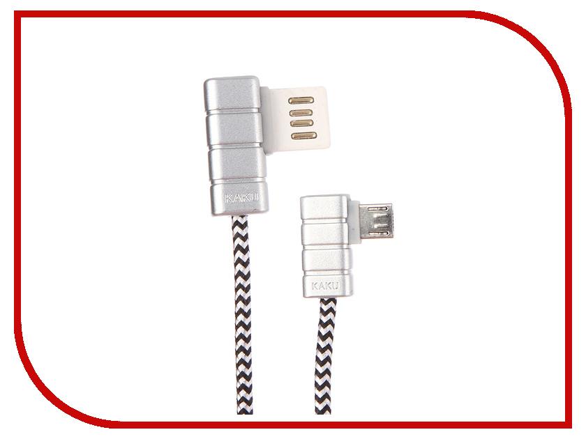 все цены на Аксессуар iKAKU Gallop USB - Lightning 8pin Silver онлайн