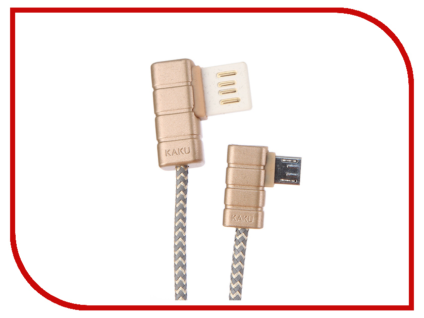Аксессуар iKAKU Gallop USB - Lightning 8pin Gold цены онлайн