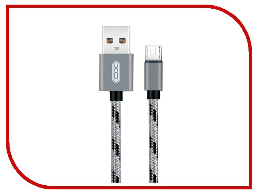 Аксессуар XO USB - MicroUSB 1.0m Grey NB10 тормоза для велосипеда avid e9 2014 elixir xo zee