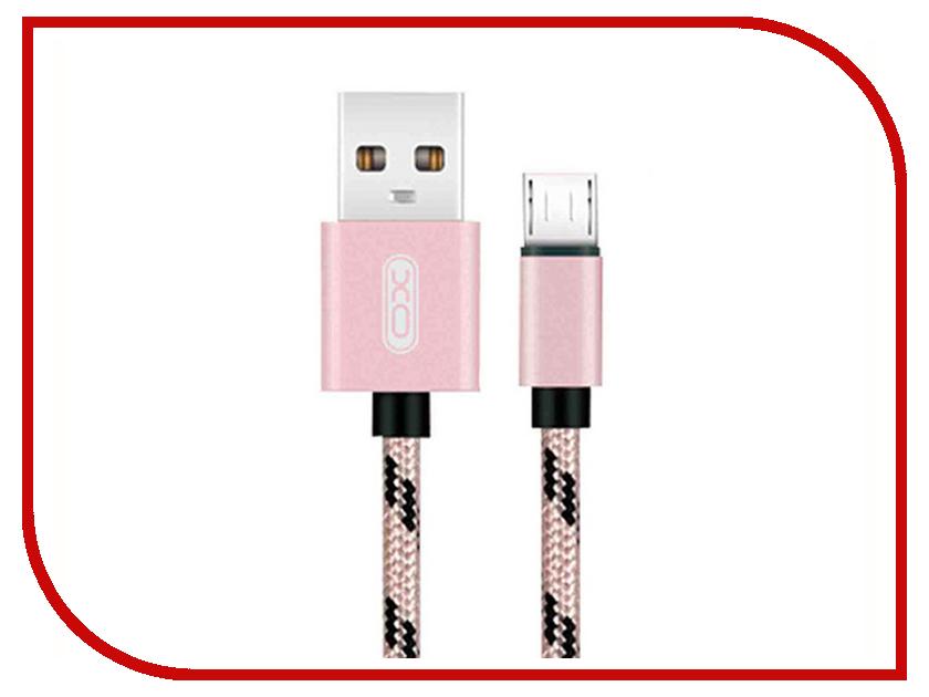 Фото - Аксессуар XO USB - MicroUSB 2.0m Rose Gold NB10 xo s20 gold