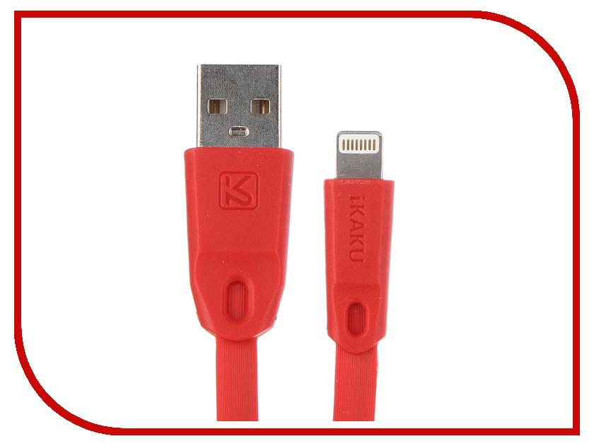 все цены на Аксессуар iKAKU Colorful USB - Lightning 8pin Red онлайн