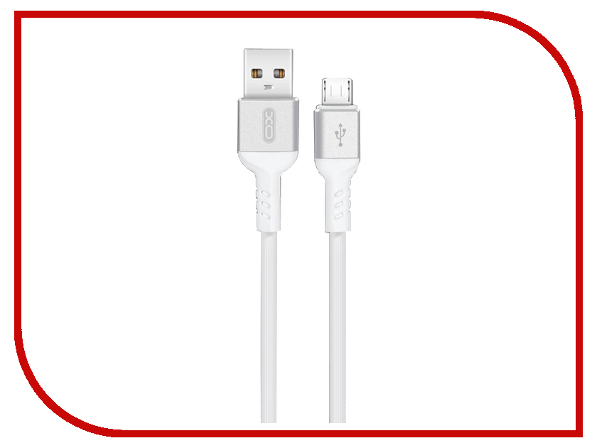 Аксессуар XO USB - Micro NB30 1m White