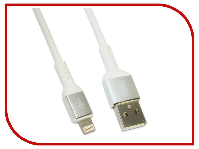 Аксессуар XO USB - Lighting 8pin для iPhone 5 / 6 / 7 / 8 / X NB30 1m White 0805 240k 5 1m smd resistor white 420 pcs