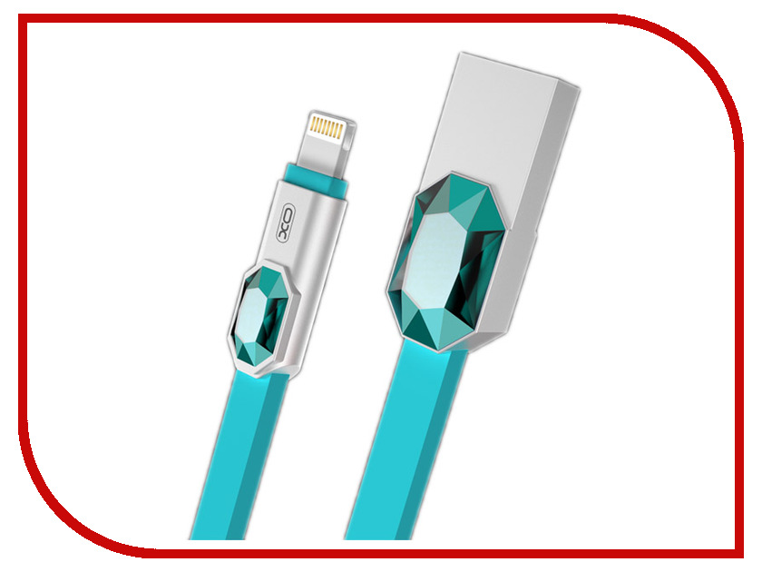 Аксессуар XO USB - Lightning 8-pin 1.0m Blue NB23 replay ty128 7 0x17 5 114 3 et45 d60 1 s