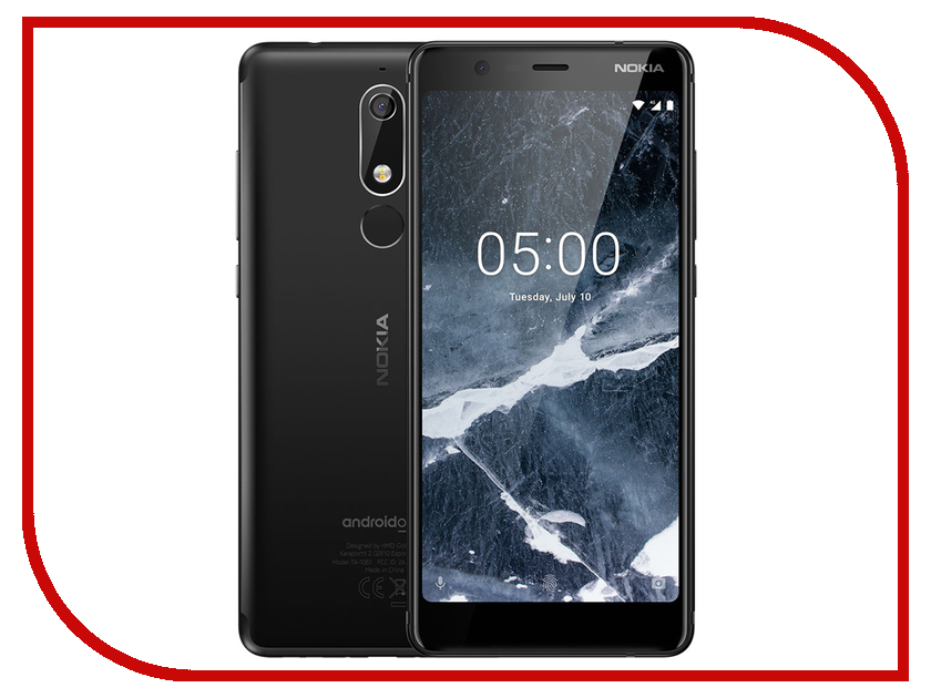 Сотовый телефон Nokia 5.1 16GB Dual Sim Black chinese mandarin textbook standard course hsk 3 with cd chinese level examination recommended books