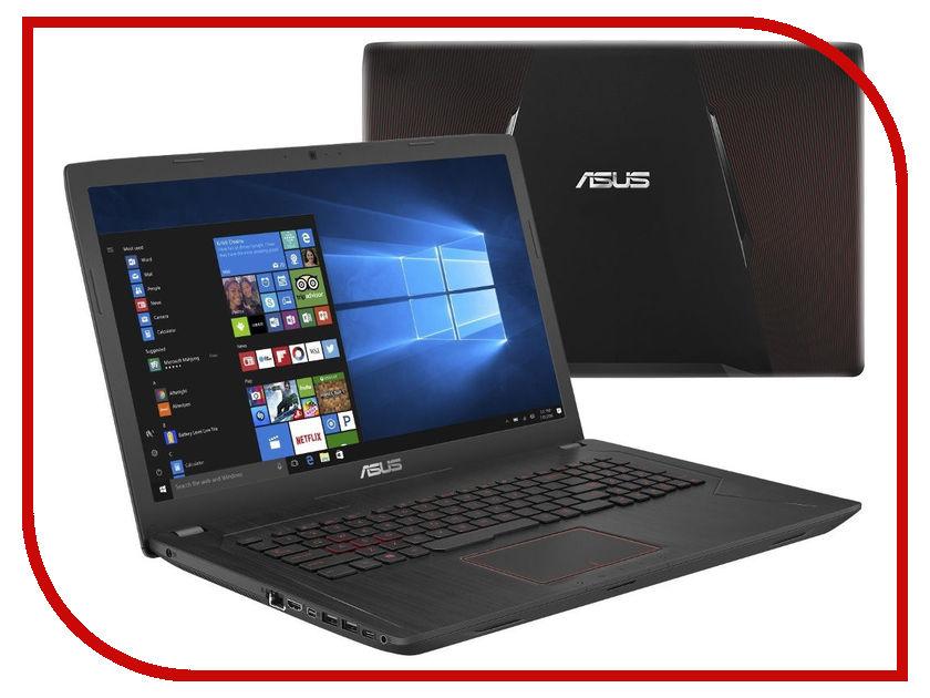 Ноутбук ASUS FX753VD-GC484T 90NB0DM3-M08430 Black (Intel Core i7-7700HQ 2.8 GHz/16384Mb/2000Gb + 128Gb SSD/DVD-RW/nVidia GeForce GTX 1050 2048Mb/Wi-Fi/Bluetooth/Cam/17.3/1920x1080/Windows 10 64-bit) ноутбук msi gp72 7rdx 483ru leopard 9s7 1799b3 483 black intel core i7 7700hq 2 8 ghz 8192mb 1000gb 128gb ssd dvd rw nvidia geforce gtx 1050 2048mb wi fi bluetooth cam 17 3 1920x1080 windows 10