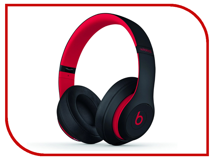 Beats Studio 3 Wireless Defiant Black-Red MRQ82ZE/A 1more super bass headphones black and red