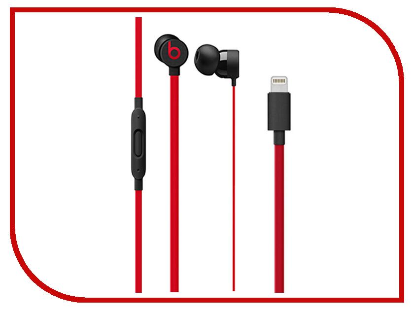 Beats urBeats3 (Lightning) Black-Red MRXX2ZE/A 1more super bass headphones black and red