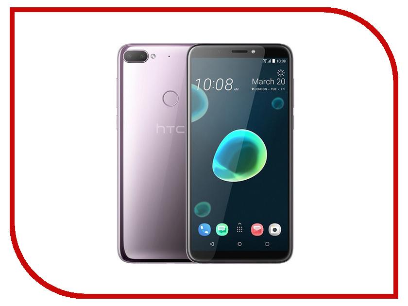 Сотовый телефон HTC Desire 12 Plus 32Gb Silver сотовый телефон htc desire 626g blue